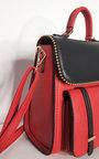 Dali Faux Leather Gold Detail Shoulder Bag Thumbnail