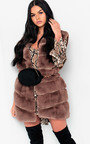 Dalliah Faux Fur Waistcoat Thumbnail