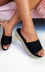 Darcey Woven Flatform Sandals Thumbnail