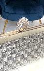 Delia Diamante Clutch Bag Thumbnail