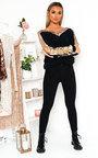 Delia Embellished Knitted Jumper Dress Thumbnail