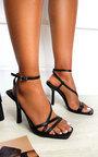 Delilah Strappy High Heels  Thumbnail