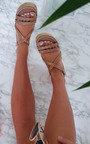 Delilah Strappy Flatform Sandals Thumbnail