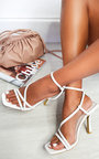 Delilah Strappy High Heels  Thumbnail