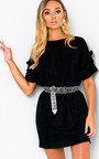 Delta Glitter Oversized T-Shirt Dress Thumbnail