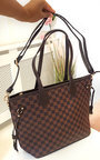 Demi Check Shoulder Bag Thumbnail