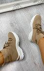 Dezi Lace Up Sock Trainer  Thumbnail