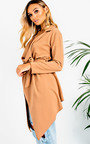 Diana Long-Sleeved Waterfall Coat Thumbnail