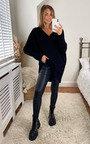 Didi Open Back Knitted Longline Jumper Thumbnail
