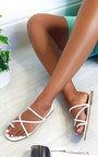 Dillon Strappy Flat Sandals Thumbnail