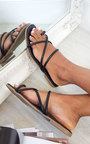 Dillon Strappy Flat Sandals Thumbnail