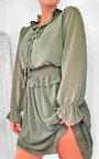 Dionne Frill Mini Dress Thumbnail