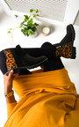 Dionne Leopard Print Ankle Boots Thumbnail