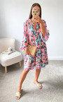 Divina Tiered Midi Dress Thumbnail