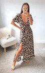 Dora Wrap Maxi Dress Thumbnail
