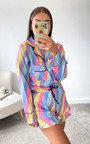 Dory Striped Pyjama Co-ord  Thumbnail