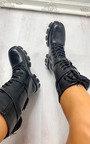 Dylan Buckle Pouch Biker Boots Thumbnail