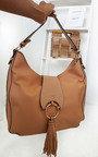 Edra Tassel Slouch Handbag Thumbnail