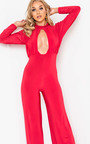 Effie Cut Out Wide Leg Jumpsuit Thumbnail