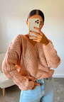 Effie Oversized Knitted Jumper Thumbnail