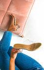 Effie Perspex Crossover Block Heels Thumbnail
