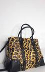 Ela Leopard Print Handbag Thumbnail