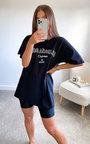 Ela Slogan Basic T-shirt Thumbnail