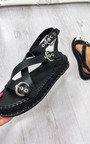 Ellena Cross Over Buckle Sandals Thumbnail
