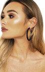 Elsie Crystal Hoop Earrings  Thumbnail