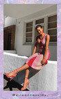 Emilee Pleated Shimmer Midi Dress Thumbnail