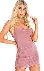 Emilee Slinky Bodycon Tie Dress Thumbnail