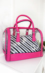 Emilee Transparent Two in One Tote Handbag Thumbnail