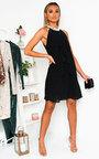 Erica Layered Frill Shift Dress Thumbnail