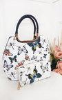 Erin Butterfly Print Handbag Thumbnail