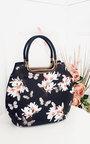 Erin Floral Print Handbag Thumbnail