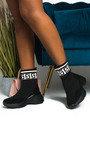 Erynn Printed Chunky Sock Trainers Thumbnail