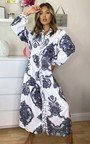 Esme Printed Button Up Maxi Dress Thumbnail
