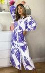 Esme Printed Button Up Maxi Dress Thumbnail