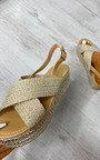 Etta Cross Over Sandals Thumbnail