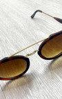 Europa Gold Bar Sunglasses Thumbnail