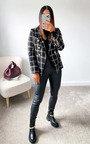 Eva Tweed Blazer Jacket Thumbnail