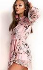 Evie Floral Shirt Dress Thumbnail