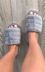 Faith Faux Fur Slippers Thumbnail