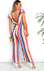 Faith Stripe Wide Leg Jumpsuit Thumbnail