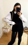 Farah Cable Knit Sleeveless Vest Thumbnail
