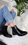 Farah Diamante Studded Ankle Boots Thumbnail