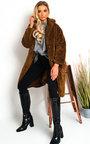 Farah Teddy Bear Maxi Coat Thumbnail