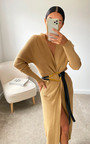 Felicity Longline Knitted Cardigan Thumbnail