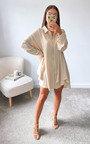 Fern Oversized Shirt Dress Thumbnail