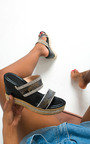 Fifi Diamante Wedged Sandals Thumbnail